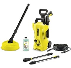 Karcher K2 Full Control pressure washer on a white background