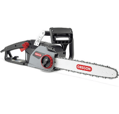 OREGON Electric Chainsaw on white background