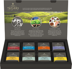 Taylors of Harrogate Assorted Speciality Teas Selection Box on white background