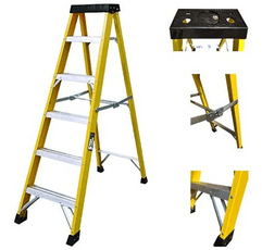 Sterk Systems Step Ladder on a white background