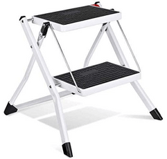 HOUSE DAY 2 Step Ladder on a white background