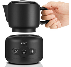 Aevo Detachable Frother on white background